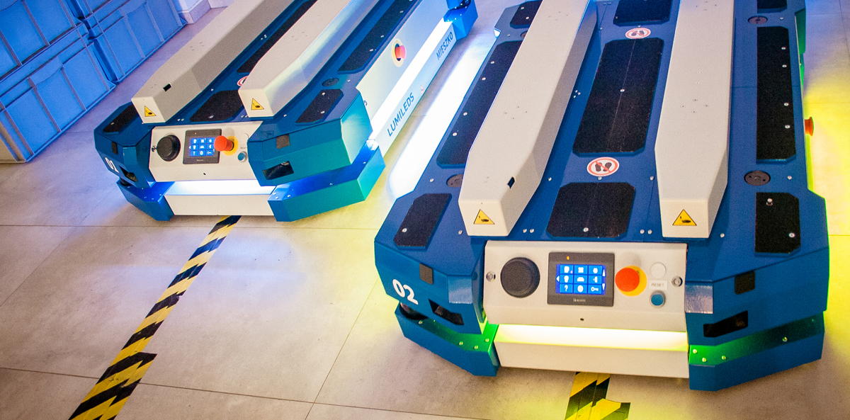 AGV, AMR, mobile robots, intralogistic systems, system intralogistyczny, roboty mobilne, roboty AGV, wózki samojezdne